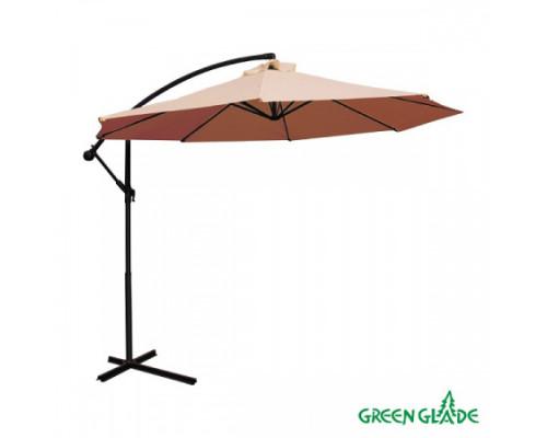 Зонт садовый Green Glade 8003 светло-коричневый