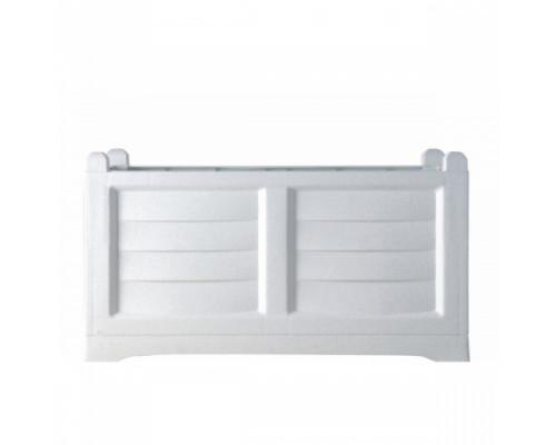 Ящик для цветов BAMA Arredo 120 л, белый