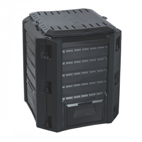 Компостер Prosperplast Compogreen 380л, черный