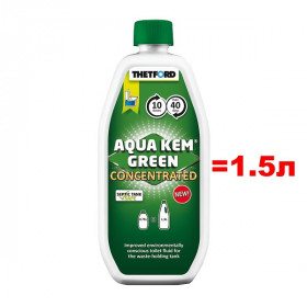 Концентрат Thetford Aqua Kem Green Concentrated 0,75л (аналог 1,5л жидкости)