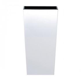 Кашпо для цветов Prosperplast Urbi Square 3+7,2л, белый