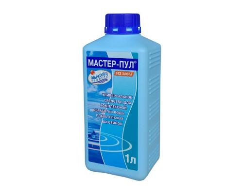 Средство для бассейна Маркопул Мастер-пул 4в1, комплексная обработка воды 1л