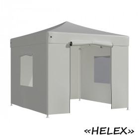 Тент-шатер быстросборный Helex 4330 3x3х3м полиэстер белый