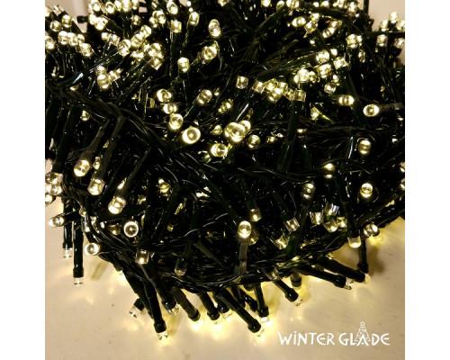 Электрическая гирлянда Winter Glade Теплый белый свет 370 ламп