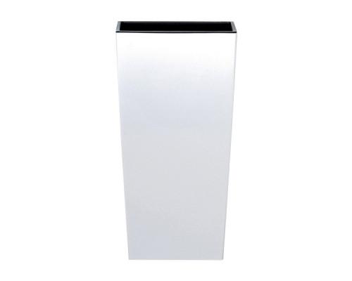 Кашпо для цветов Prosperplast Urbi Square 2+4л, белый