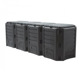 Компостер Prosperplast Module 1600л, черный