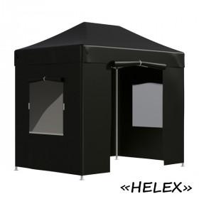 Тент-шатер быстросборный Helex 4322 3x2х3м полиэстер черный