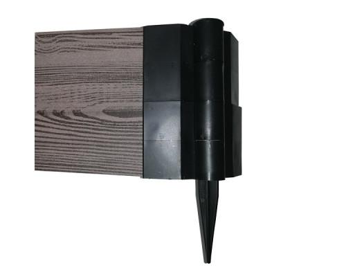 Шарнир для грядки ДПК Helex 25х150мм пластик