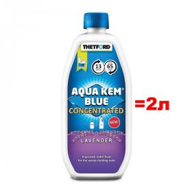 Концентрат Thetford Aqua Kem Blue Concentrated Lavender 0,78л (аналог 2л жидкости)