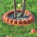 Бордюр садовый Prosperplast Palisada 6см/4,05м, терракот