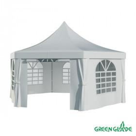 Шатер-беседка Green Glade 1053 2,5х2,5х2,5х3,4м полиэстер 2 коробки