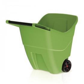 Садовая тележка Prosperplast Load & Go II 85л, оливковый