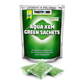Порошок для биотуалетов Thetford Aqua Kem Green Sachets 12шт/уп