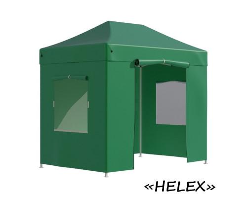 Тент-шатер быстросборный Helex 4321 3х2х3м полиэстер зеленый