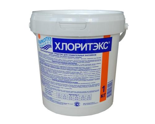 Средство для бассейна Маркопул Хлоритэкс, дезинфекция 1кг