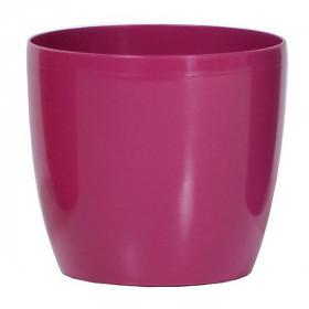 Кашпо для цветов Prosperplast Coubi Round 0,5л, фуксия