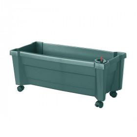 Ящик для цветов KHW Калипсо 42л, зеленый