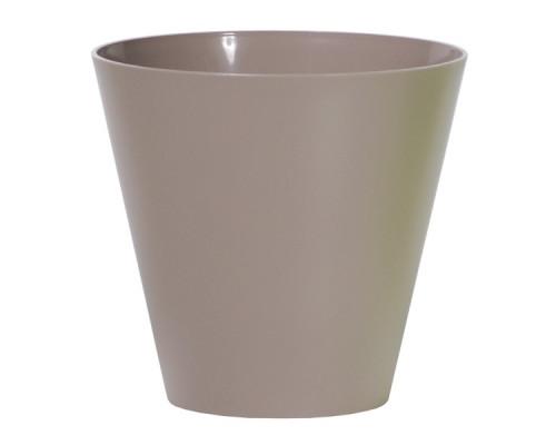 Кашпо для цветов Prosperplast Tubus 28,5л, мокко