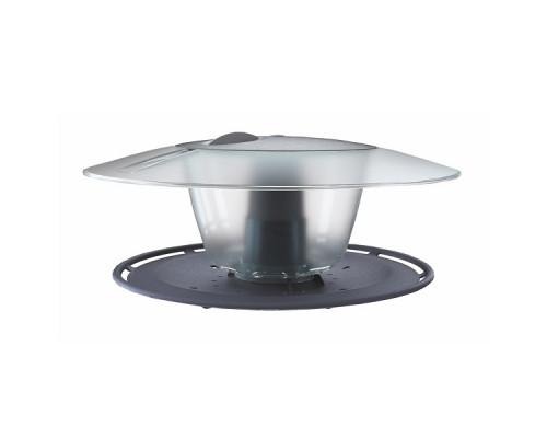 Кормушка для птиц Prosperplast Round, серый