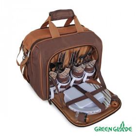 Набор для пикника Green Glade Т3338 15л / 34 предмета