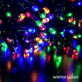 Электрическая гирлянда Winter Glade Мультиколор 550 ламп