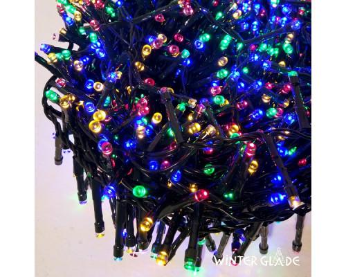 Электрическая гирлянда Winter Glade Мультиколор 370 ламп