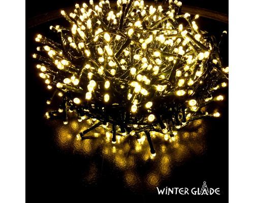 Электрическая гирлянда Winter Glade Теплый свет 700 ламп