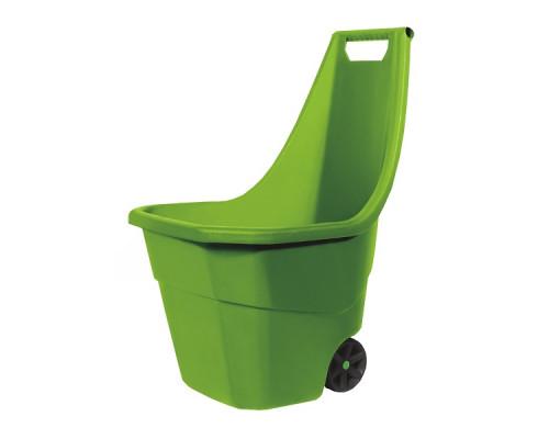 Садовая тележка Prosperplast Load & Go 55л, оливковый