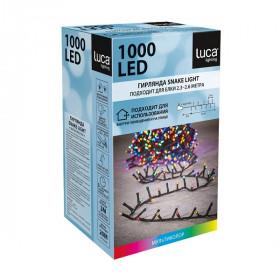 Электрическая гирлянда Luca Lighting Мультиколор 1000 ламп