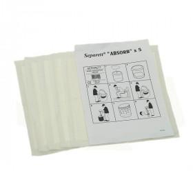 Влаговпитывающие Separett Absorb салфетки 5 шт/уп