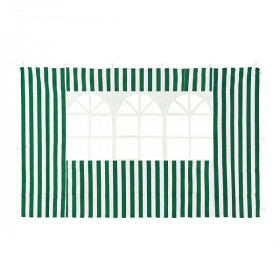Стенка для садового тента Green Glade 1,95х2,95м полиэстер с окном зеленая