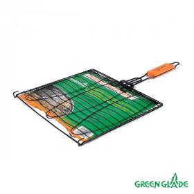 Решетка-гриль Green Glade 7048 двойная антипригарная