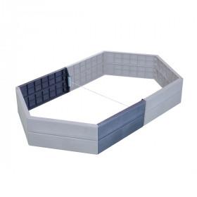 Расширитель высокой грядки GRAF Ergo Raised bed 2 панели