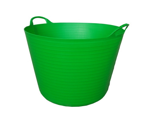 Корзина пластиковая Helex 42л, зеленый
