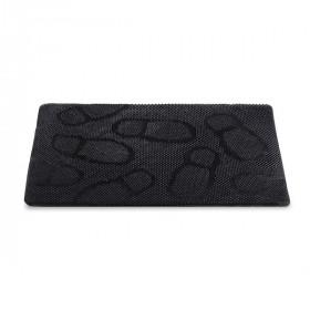 Придверный коврик Helex резиновый шипованый 40х60см Следы