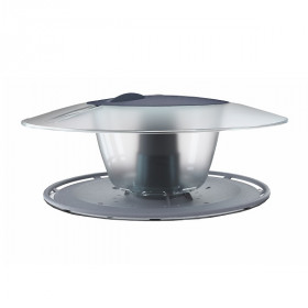 Кормушка для птиц Prosperplast Round, антрацит