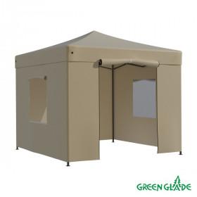 Тент-шатер быстросборный Green Glade 3101 3х3м полиэстер