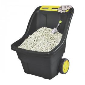 Садовая тележка Keter Super Pro 150л, черный/желтый