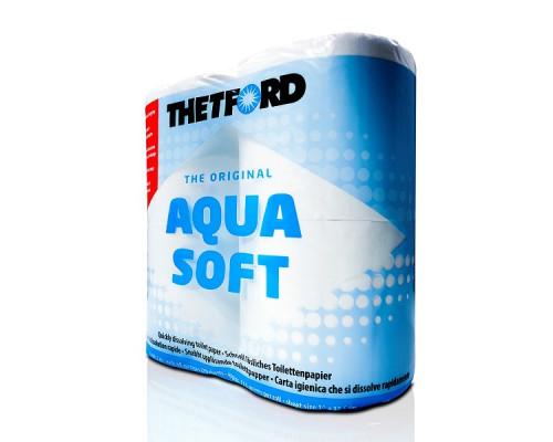 Туалетная бумага для биотуалетов AQUA SOFT