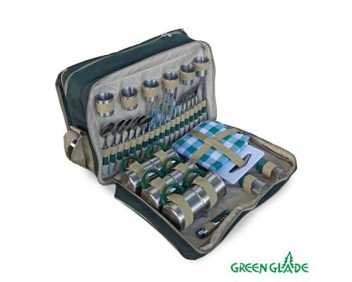 Набор для пикника Green Glade Т3653 18л / 48 предметов