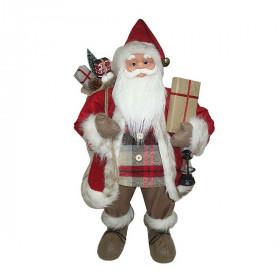 Фигурка Дед Мороз 81 см (красный/черный)