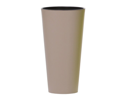 Кашпо для цветов Prosperplast Tubus Slim 35+64л, мокко