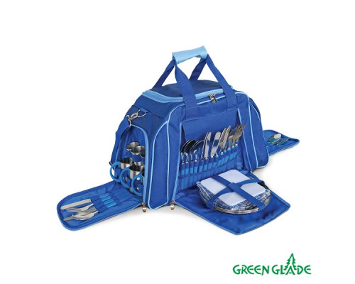 Набор для пикника Green Glade Т3655 25л / 46 предметов