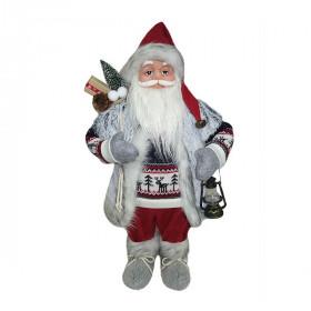Фигурка Дед Мороз 61 см (серый/белый)