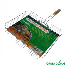 Решетка-гриль Green Glade 7003 объемная двойная