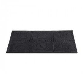 Придверный коврик Helex резиновый шипованый 45х75см Листья