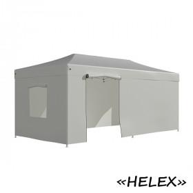 Тент-шатер быстросборный Helex 4360 3x6х3м полиэстер белый