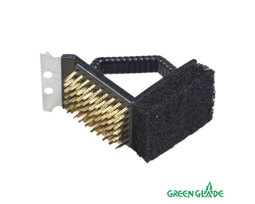 Щетка-скребок для гриля Green Glade 9019