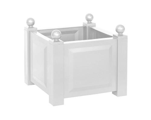 Ящик для цветов KHW 44л, белый