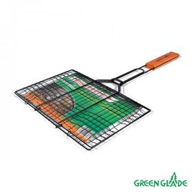 Решетка-гриль Green Glade 7111 двойная антипригарная